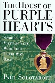 Cover of: The house of purple hearts | Paul Solotaroff