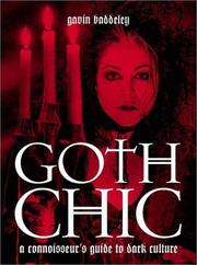 Cover of: Goth Chic | Gavin Baddeley