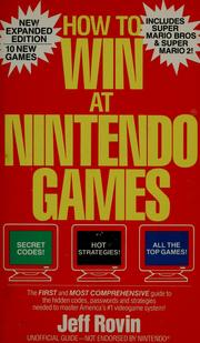 Cover of: How to win at Nintendo Games | Jeff Rovin