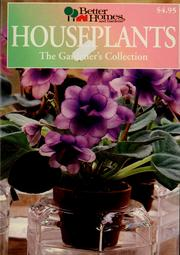 Cover of: Houseplants | Better Homes and Gardens