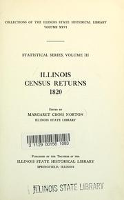 Illinois census returns, 1820