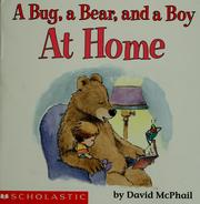 Cover of: A bug, a bear, and a boy at home | David M. McPhail