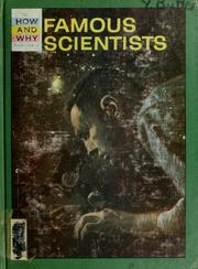 The how and why wonder book of famous scientists