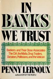 Cover of: In banks we trust | Penny Lernoux
