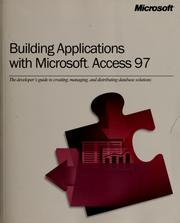 Cover of: Building applications with Microsoft Access 97 |