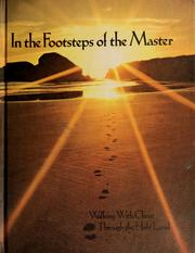 Cover of: In the footsteps of the Master | Maryjane Hooper Tonn