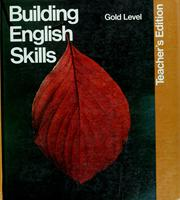 Cover of: Building English skills |