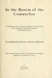 Cover of: In the bosom of the Comanches | Theodore Adolphu Babb