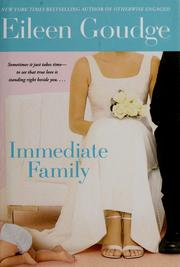Cover of: Immediate family | Eileen Goudge