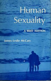 Cover of: Human sexuality | James Leslie McCary