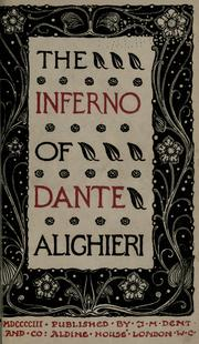 Cover of: The Inferno of Dante Alighieri | Dante Alighieri