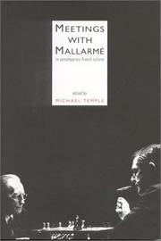 Cover of: Meetings With Mallarme