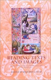 Cover of: Reading Texts and Images | Bernard J. Muir