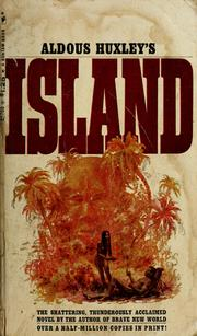 Cover of: Island: a novel.