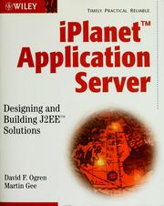 Cover of: IPlanet application server | David F. Ogren