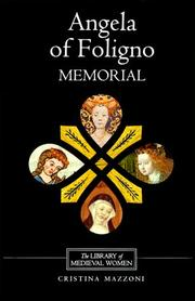 Cover of: Angela of Foligno's Memorial (Library of Medieval Women)