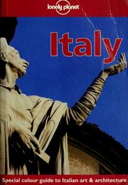 Cover of: Italy | Helen Gillman