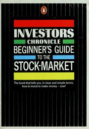 "Cover of: ""Investor's Chronicle"" Beginner's Guide to the Stock Market (Penguin Business Library) by Nikki Tait"