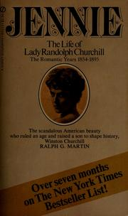 Cover of: Jennie | Martin, Ralph G.