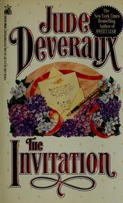 Cover of: The invitation | Jude Deveraux