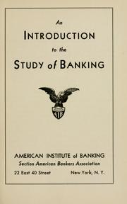 an introduction to the analysis of money and banking This course can provide a useful introduction to a broad range of financial issues relevant to a career our bank financial management short courses are led by industry experts designed for maximum p and bain, k (2005), the economics of money, banking and finance howells, p and bain, k.