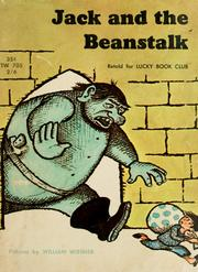 Cover of: Jack and the beanstalk |