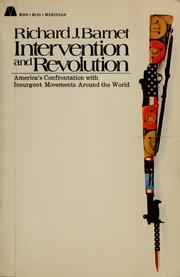 Cover of: Intervention and revolution | Richard J. Barnet