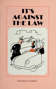 Cover of: It's against the law! | Dick Hyman