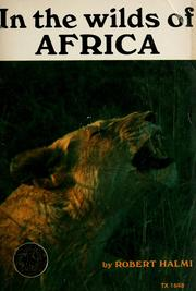 Cover of: In the wilds of Africa | Robert Halmi