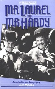 Cover of: Mr. Laurel and Mr. Hardy | John McCabe