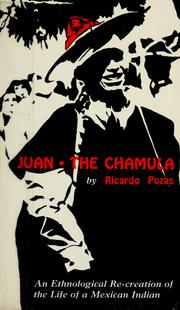 Cover of: Juan the Chamula by Ricardo Pozas