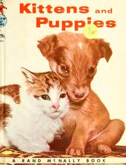 Cover of: Kittens and puppies | Peggy Burrows