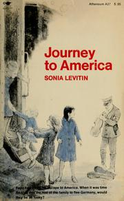 Cover of: Journey to America | Sonia Levitin