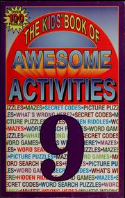 Cover of: The kids' book of awesome activities | Tony Tallarico