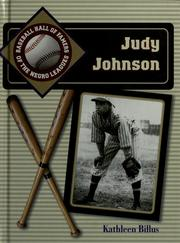 Cover of: Judy Johnson | Kathleen Billus
