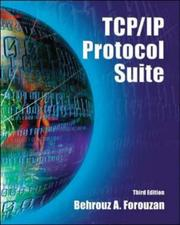 Cover of: TCP/IP Protocol Suite (McGraw-Hill Forouzan Networking)