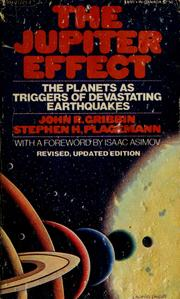 Cover of: The Jupiter effect by John R. Gribbin
