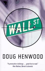 Cover of: Wall Street: How It Works and for Whom