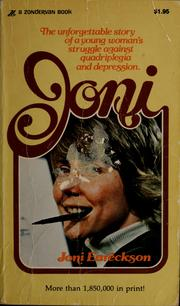 Cover of: Joni | Joni Eareckson Tada
