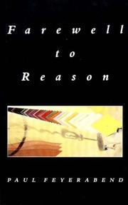 Cover of: Farewell to reason