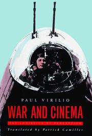 Cover of: War and cinema: the logistics of perception