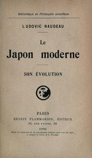 Cover of: Le Japon moderne