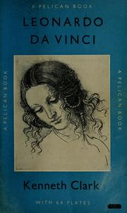 Cover of: Leonardo da Vinci by Clark, Kenneth