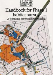 Cover of: Handbook for Phase 1 Habitat Survey