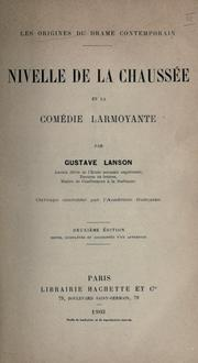 Cover of: Les origines du drame contemporain