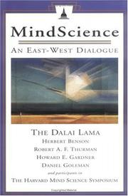 Cover of: MindScience: An East-West Dialogue