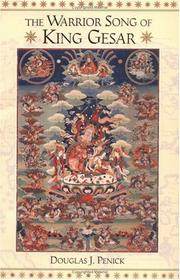 Cover of: The warrior song of King Gesar