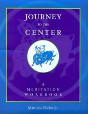 Cover of: Journey to the center