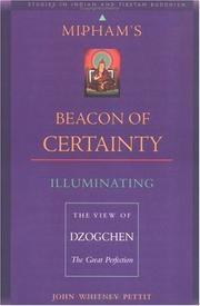 Cover of: Mipham's beacon of certainty