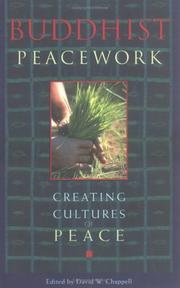 Cover of: Buddhist Peacework -- Creating Cultures of Peace